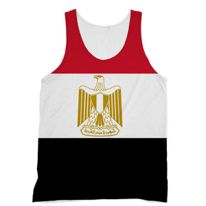 Basic Egypt Flag Sublimation Vest Apparel Flagdesignproducts.com