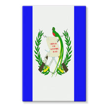 Flag Of Guatemala Stretched Canvas Wall Decor Flagdesignproducts.com