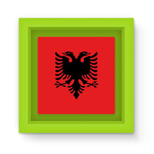 National Flag Of Albania Magnet Frame Homeware Flagdesignproducts.com