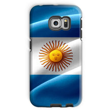 Waving Fabric Argentina Flag Phone Case & Tablet Cases Flagdesignproducts.com