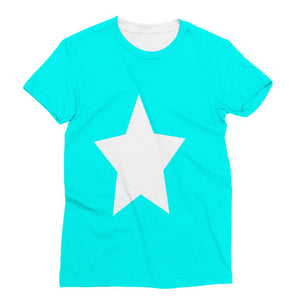 Flag Of Somalia Sublimation T-Shirt Apparel Flagdesignproducts.com