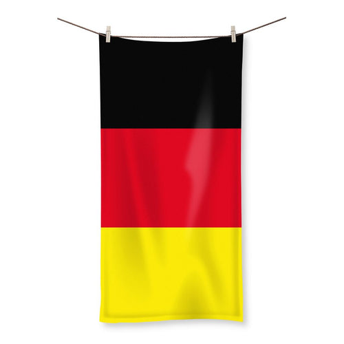 Deutsche Flagge Beach Towel Homeware Flagdesignproducts.com