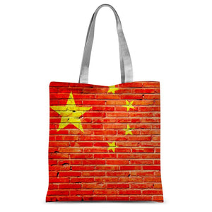 China Stone Brick Flag Sublimation Tote Bag Accessories Flagdesignproducts.com