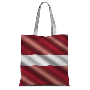 Waving Latvia Flag Sublimation Tote Bag Accessories Flagdesignproducts.com
