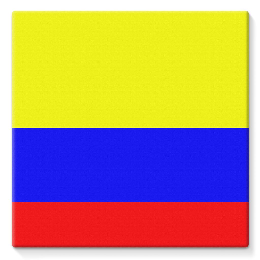 Flag Of Colombia Stretched Canvas Wall Decor Flagdesignproducts.com