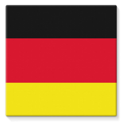 Deutsche Flagge Stretched Canvas Wall Decor Flagdesignproducts.com