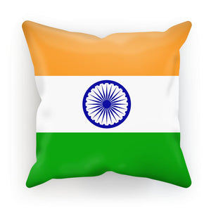 Basic India Flag Cushion Homeware Flagdesignproducts.com