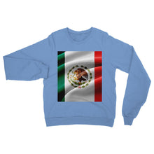 Fabric Mexico Flag Heavy Blend Crew Neck Sweatshirt Apparel Flagdesignproducts.com