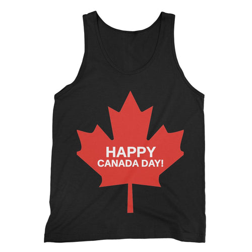 Canada Day Maple Flag Fine Jersey Tank Top Apparel Flagdesignproducts.com