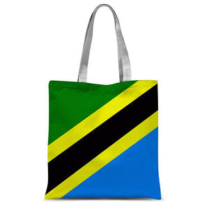 Flag Of Tanzania Sublimation Tote Bag Accessories Flagdesignproducts.com