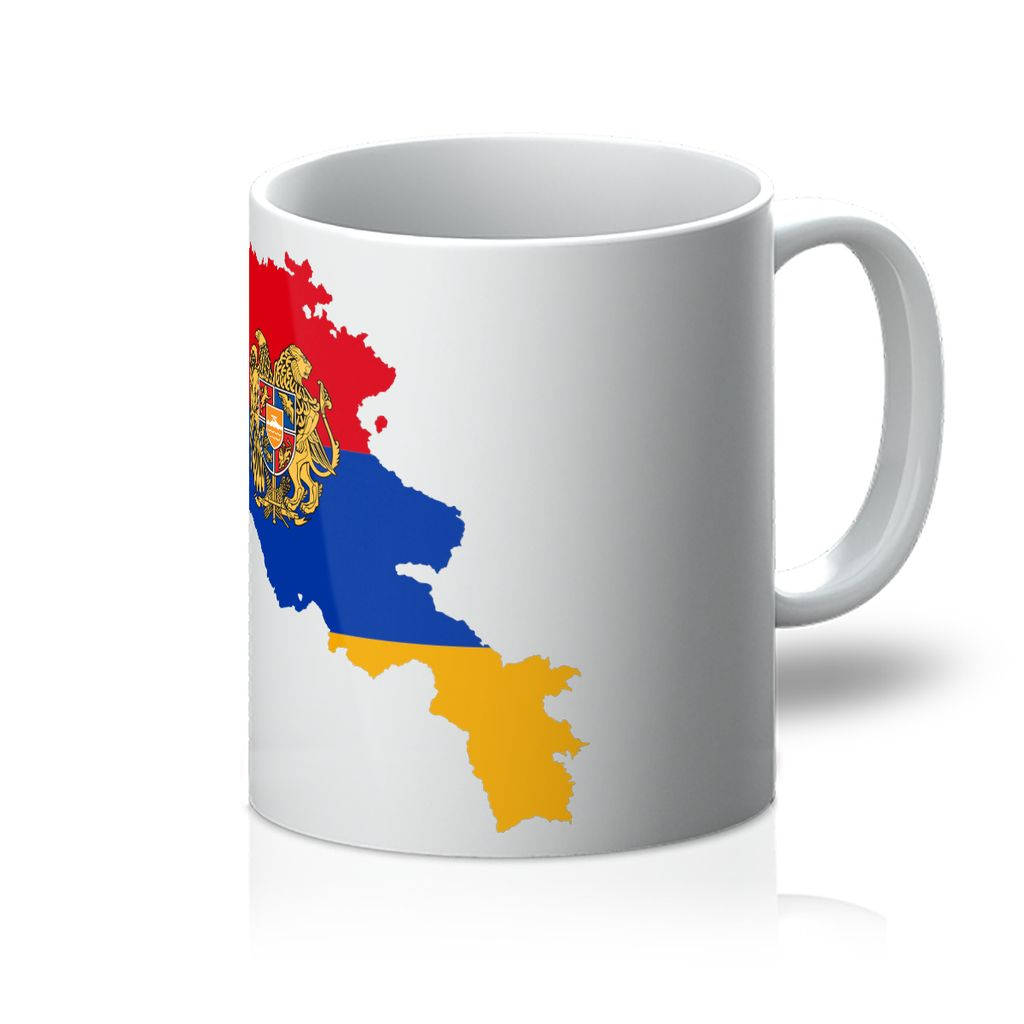 Armenia Continent Flag Mug Homeware Flagdesignproducts.com