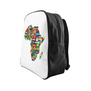 Africa Countries Flag School Backpack Bags Flagdesignproducts.com