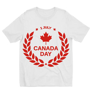 Canada Day Maple Leaf Flag Kids Sublimation T-Shirt Apparel Flagdesignproducts.com