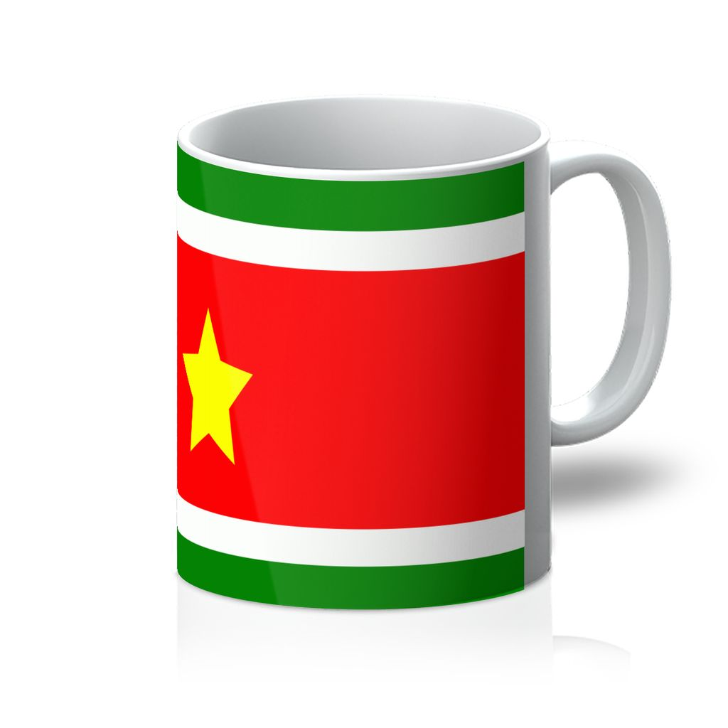 Flag Of Suriname Mug Homeware Flagdesignproducts.com