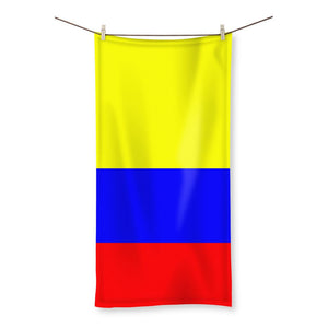 Flag Of Colombia Beach Towel Homeware Flagdesignproducts.com