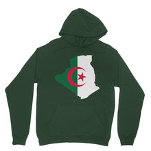 Algeria Continent Flag Heavy Blend Hooded Sweatshirt Apparel Flagdesignproducts.com
