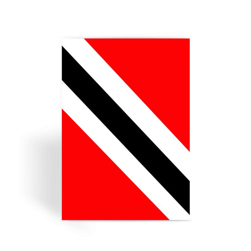Flag Of Trinidad And Tobago Greeting Card Prints Flagdesignproducts.com