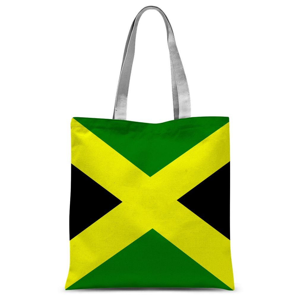 Flag Of Jamaica Sublimation Tote Bag Accessories Flagdesignproducts.com