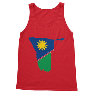 Namibia Continent Flag Softstyle Tank Top Apparel Flagdesignproducts.com