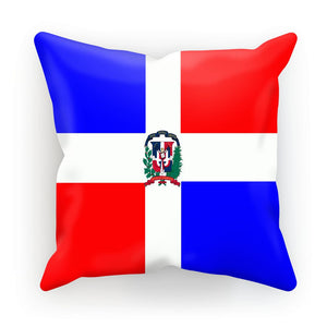 Flag of Dominican Republic Cushion - FlagDesignProducts