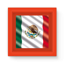 Waving Mexico Flag Magnet Frame Homeware Flagdesignproducts.com
