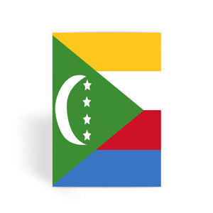 Flag Of Comoros Greeting Card Prints Flagdesignproducts.com