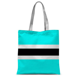 Flag Of Botswana Sublimation Tote Bag Accessories Flagdesignproducts.com