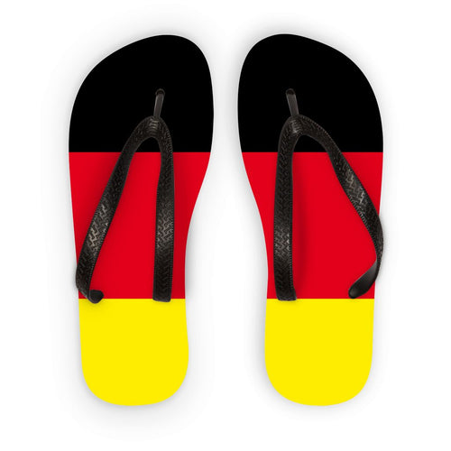 Deutsche Flagge Flip Flops Accessories Flagdesignproducts.com