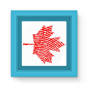 Canada Finger Print Flag Magnet Frame Homeware Flagdesignproducts.com