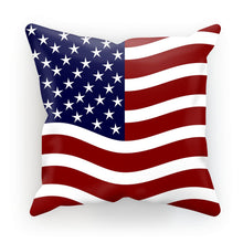 Waving Usa Flag Cushion Homeware Flagdesignproducts.com