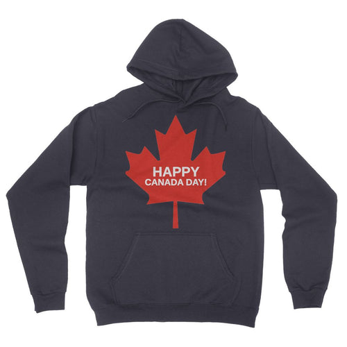 Canada Day Maple flag California Fleece Pullover Hoodie