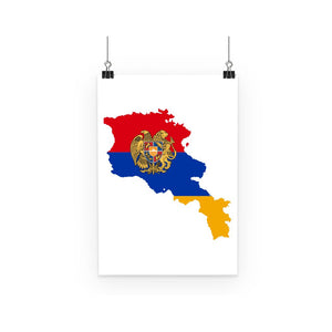 Armenia Continent Flag Poster Wall Decor Flagdesignproducts.com