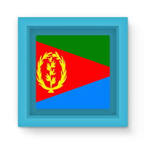 Flag Of Eritrea Magnet Frame Homeware Flagdesignproducts.com