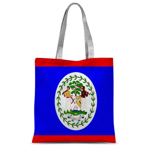 Flag Of Belize Sublimation Tote Bag Accessories Flagdesignproducts.com