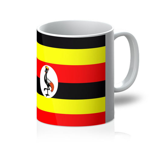 Flag Of Uganda Mug Homeware Flagdesignproducts.com