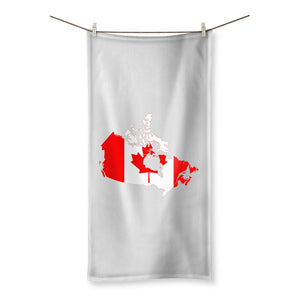 Canada Continent Flag Beach Towel Homeware Flagdesignproducts.com
