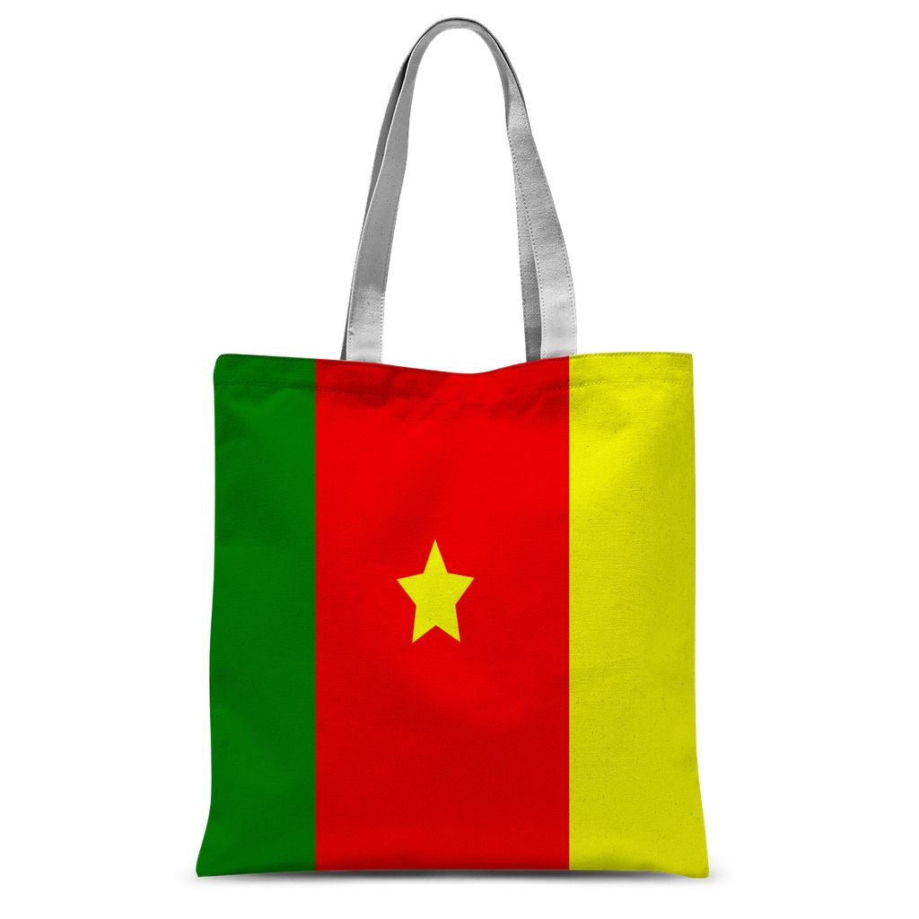 Flag Of Cameroon Sublimation Tote Bag Accessories Flagdesignproducts.com
