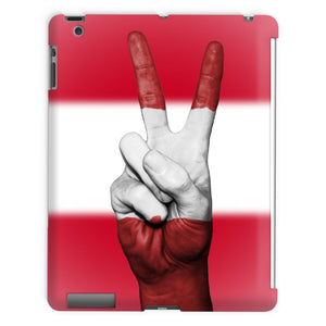Austria Flag And Hand Tablet Case Phone & Cases Flagdesignproducts.com