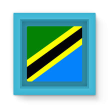 Flag Of Tanzania Magnet Frame Homeware Flagdesignproducts.com