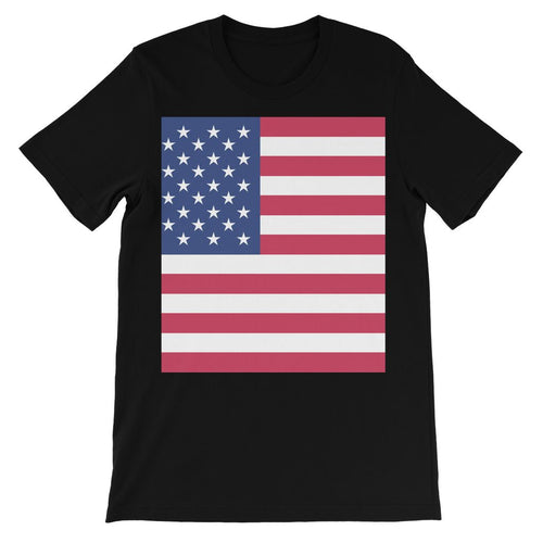 Basic USA Flag Kids' T-Shirt