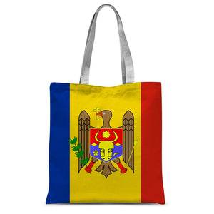 National Flag Of Moldova Sublimation Tote Bag Accessories Flagdesignproducts.com