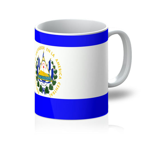 Flag Of El Salvador Mug Homeware Flagdesignproducts.com