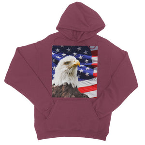 American Eagle And Usa Flag College Hoodie Apparel Flagdesignproducts.com