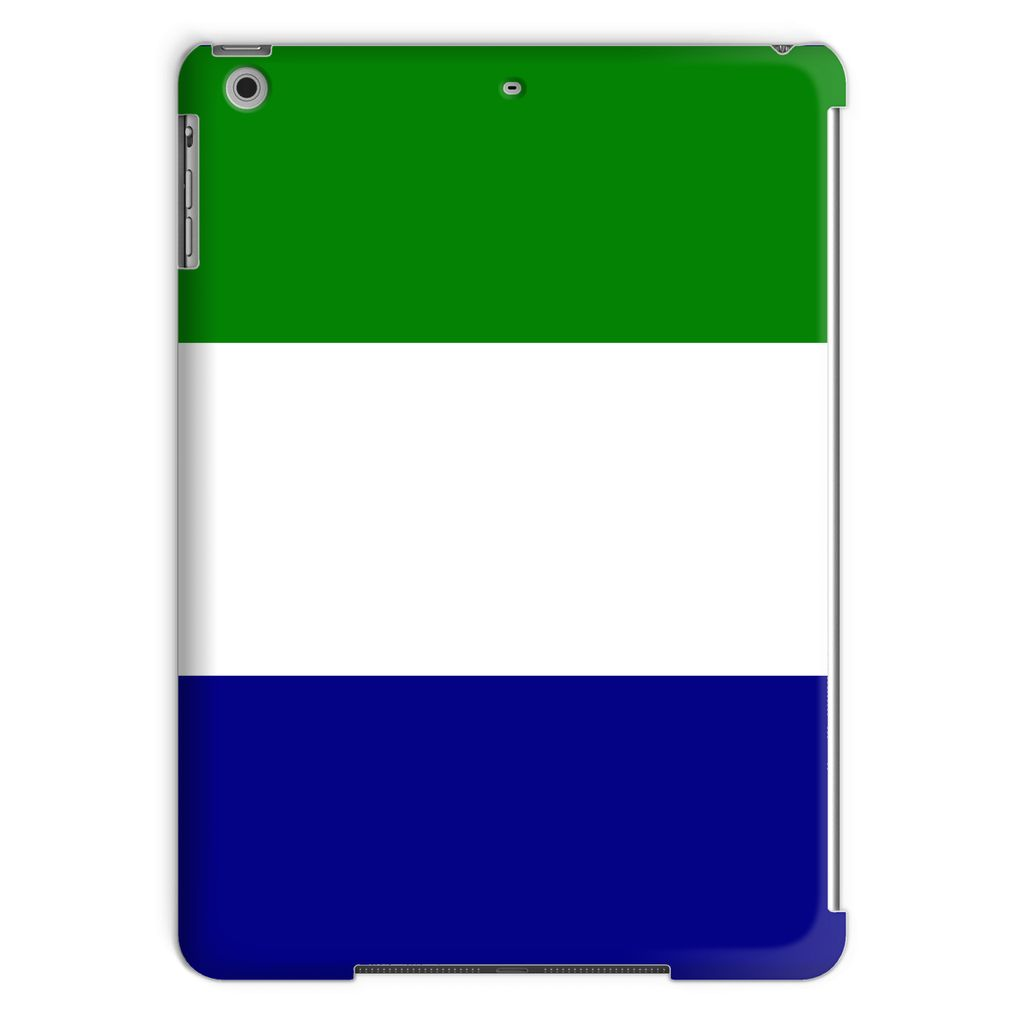 Flag Of Sierra Leone Tablet Case Phone & Cases Flagdesignproducts.com