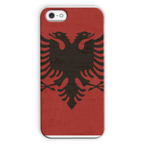 Albania Stone Wall Flag Phone Case & Tablet Cases Flagdesignproducts.com