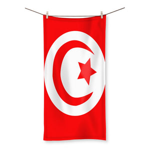 Flag Of Tunisia Beach Towel Homeware Flagdesignproducts.com