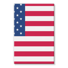 America Flag Stretched Eco-Canvas Wall Decor Flagdesignproducts.com