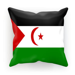 Flag Of Western Sahara Cushion Homeware Flagdesignproducts.com