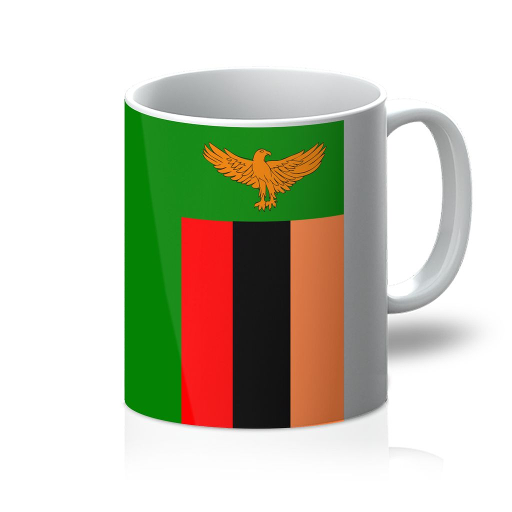 Flag Of Zambia Mug Homeware Flagdesignproducts.com