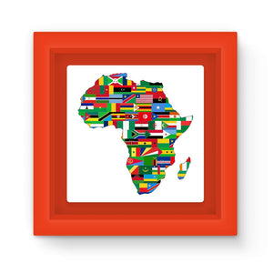 Africa Countries Flag Magnet Frame Homeware Flagdesignproducts.com